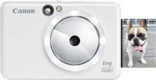 <b>Canon</b> IVYCLIQWHIT IVY CliQ+ Instant <b>Camera</b> Printer, Mobile Mini ...
