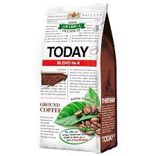 <b>Кофе Today</b> Blend 8 <b>молотый в</b>/у 200 гр - купить по выгодной ...