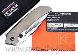 Купить <b>Нож CKF</b>/Rassenti <b>Satori</b> collab, <b>CKF</b>, стоимость, 2018 ...