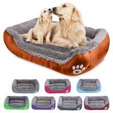 <b>Pet Large Dog</b> Bed Warm <b>Dog</b> House <b>S 3XL</b> 8 Colors Paw <b>Pet</b> Sofa ...