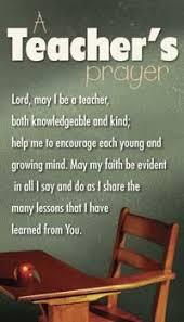 Teacher Prayer on Pinterest | Teacher Quotes, Kindergarten Teacher ... via Relatably.com