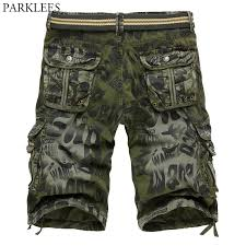 Brand Casual Cargo Shorts Men <b>2018 Classic Camouflage</b> Military ...
