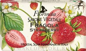 "Florinda Strawberry Natural <b>Soap</b> - <b>Мыло натуральное</b> ""Клубника ..."