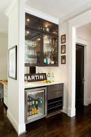 butler pantry mini fridge and bar on pinterest black mini bar