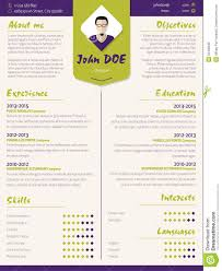 colorful modern resume curriculum vitae template design ele colorful modern resume curriculum vitae template design ele