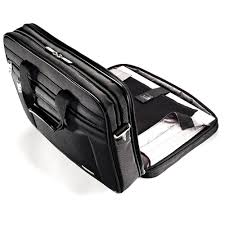"Samsonite <b>Classic Business</b> Perfect Fit Two Gusset Laptop Bag - 15.6"""