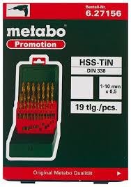 Купить Набор <b>сверл</b> Metabo 627156000, 19 шт. в Минске с ...
