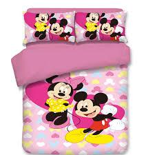 В стиле «Микки и Минни Маус»; <b>Комплект постельного белья</b> ...