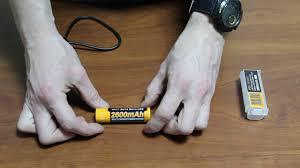 Обзор: <b>Аккумулятор</b> с зарядкой usb - <b>Fenix 18650 2600</b> mAh micro ...