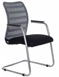 Офисные <b>кресла</b> на полозьях серого цвета купить в Москве в ...