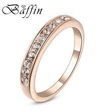 Женское <b>кольцо</b> BAFFIN, простое круглое <b>кольцо</b> из розового ...