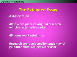 Extended essay orientation Central America Internet Ltd