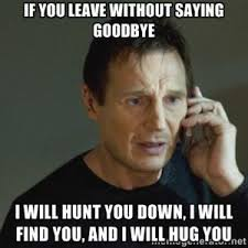 Funny Goodbye Quotes | Kappit via Relatably.com