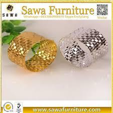 Crystal Diamond Gold Metal Bulk Wholesale <b>Crown Napkin Ring</b>