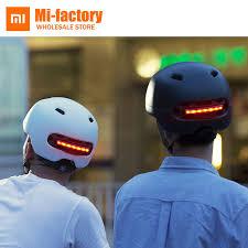 <b>New</b> Xiaomi Smart4u <b>Waterproof</b> Bicycle Smart Flash Helmets Matte ...