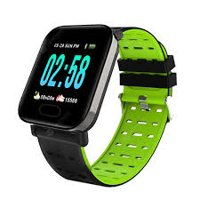 <b>RUNFENGTE Smart Watch</b> A6 Men Women Heart Rate Monitor ...