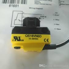 2019 QTY 5 Original BANNER <b>Photoelectric</b> Switch <b>QS18VN6D</b> ...