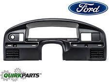 ford f 250 dash parts 94 1997 ford f250 f350 diesel black dashboard instrument cluster panel bezel oem fits ford f 250