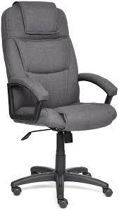 Купить <b>кресло</b> руководителя <b>Tetchair Bergamo</b> 11379 (Dark Grey ...
