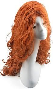 <b>Women's Fashion</b> Princess Cosplay Long <b>Wave Curls</b> Wigs (red ...