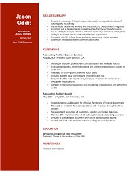 making a great auditor resume raw resume auditor resume sample