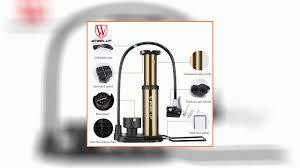 <b>WHEEL UP Portable Mini</b> Bike Pump Ultralight Bike Hose with ...