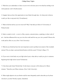 writing good college essays  essay example