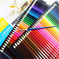 72 <b>Colored Pencils</b> Art Drawing Soft Core Pencils Lead Water ...