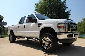 F350 Diesel For 2008 Ford F250 Xlt Lifted 4x4 Diesel Crew Cab For Sale See Www