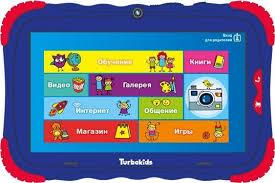 Купить Детский <b>планшет TURBO TurboKids S5</b>, синий в интернет ...
