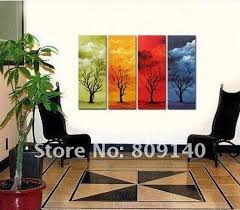 abstract landscape oil painting canvas beautiful scenery artwork high quality handmade home office hotel wall art decor gallery free ship landscape oil best office art