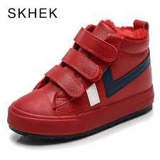 <b>SKHEK 2018 New</b> Kids Girls Boots Leather Princess Martin Boots ...