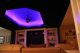 led color changing ceiling cove lighting contemporary family room accent lighting family room