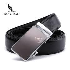 <b>Men</b> Real Leather belt <b>Brand</b> Casual Design Buckle <b>high quality</b> ...
