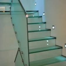 glass staircases bespoke glass staircase