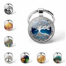 <b>Solar System Planet Keyring</b> Galaxy Nebula Space Keychain Moon ...