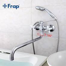 <b>FRAP смеситель для ванной</b> с душем F2618 - купить недорого в ...