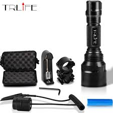 <b>1 mode C8 LED</b> Flashlight 5 Modes 10000lums Tactical FlashlightS ...
