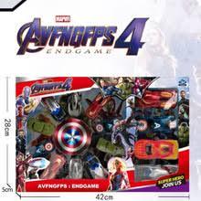 14pcs <b>Avengers 4 Superhero</b> Iron Man Pull Back Car Toys Car ...
