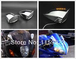 4X Skull <b>Motorcycle Turn Signal</b> Light Fit Suzuki Boulevard S40 C50 ...