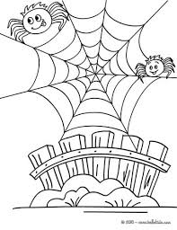 Small Picture Humoristic spiderweb coloring pages Hellokidscom
