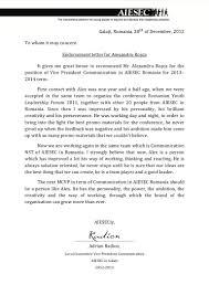 endorsement alex rosca adrian