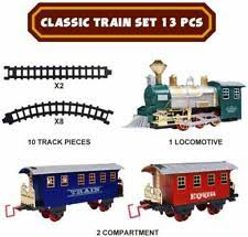 13pc Classic <b>train simulation</b> headlight train tracks over 340cm | eBay