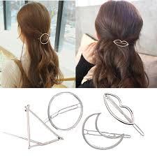 <b>M MISM</b> 2019 Simple Fashion Women Geometric Hairpins Girls Hair ...