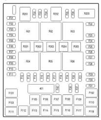 ford f 150 11th generation 2004 to 2008 fuse box diagrams ford ford f 150 passenger side fuse box diagram