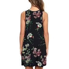 Buy Aphratti <b>Women</b> 2021 <b>Summer Floral</b> Casual T Shirt Dress <b>Sexy</b> ...