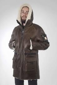 <b>Дубленка</b> Parka | Мужская зимняя мода, Мужские кожаные куртки ...