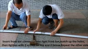 How to install Patio Manual Retractable <b>Sun Shade</b> Awning - YouTube