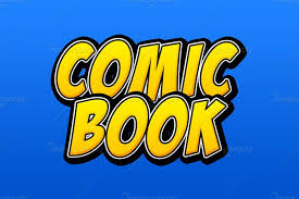 Image result for Comic text