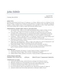 property and casualty insurance underwriter resume